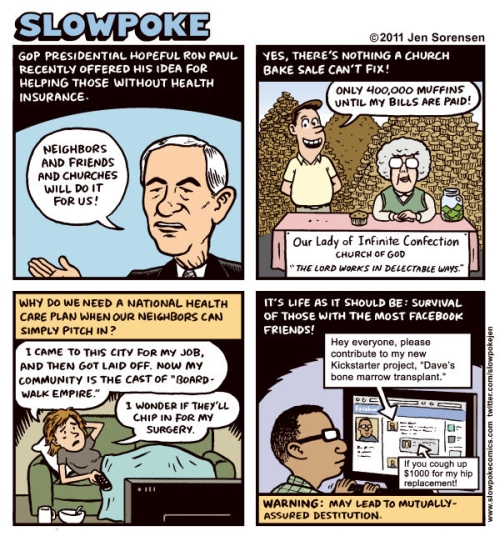 Ron Paul Healthcare Bake Sale